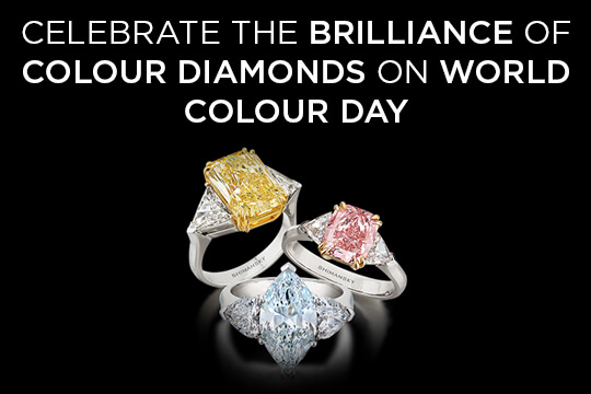 Celebrate the Brilliance of Colour Diamonds on International Colour Day